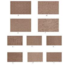 1220 * 2440 * 2,5mm 1220 * 2440 * 3mm geprägte Hartfaserplatte dekorative gemusterte Hartfaserplatte dekorative Hartfaserplatte
