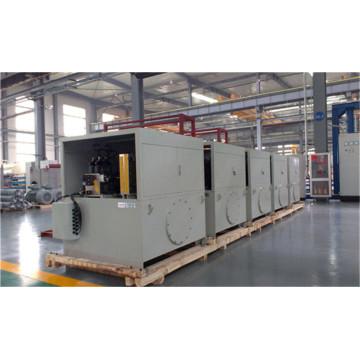 New type vulcanizing machine hydraulic system
