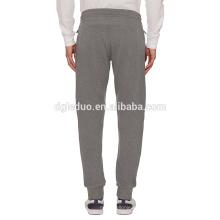 Pantalon de jersey Jacquard jersey pantalons de jogger blanc gros harem pour hommes
