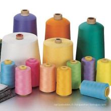 Usine 100% filée de fil de couture de polyester