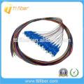 SC / UPC 12color 0.9mm G657A2 Fibre Optique Pigtail
