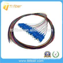 SC / UPC 12color 0,9mm G657A2 Faseroptik Pigtail