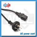 SAA Australia tv extension power cord with IEC13 plug