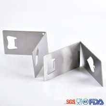 OEM customized simple Stainless steel beer opener