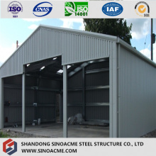 High Grade ISO Certificated Pre Enigneered Garage/Storage/Warehouse
