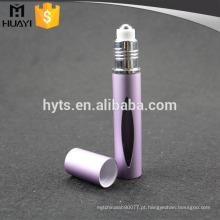 Rolo de alta qualidade 10ml em frasco de vidro com material de alumínio para perfume