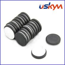 Ímãs de ferrite de disco com adesivo (D-004)