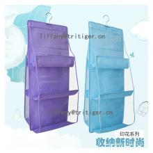 6-Pockets Clear PVC pocket organizer over the door hanging organizer