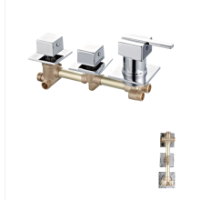 China supplier cheap shower panel  shower mixer chrome faucets bathroom taps faucet