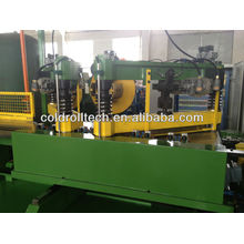 Step lap core cutting machine for transformer lamination