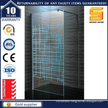 Walk in Frameless Glass Shower Screen Doors