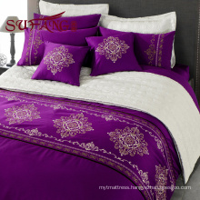 Luxury hotels bedding 30s/40s/60S jacquard long stapled cotton