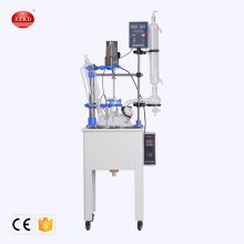 20L CE Chemical Lab Single Layer Glass Reactor