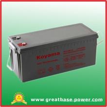 Гель батареи 12В 180AMP