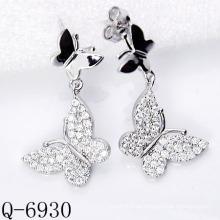 Neueste Styles Ohrringe 925 Silber Schmuck (Q-6930)
