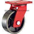 Amerika Modell Kingpin Weniger Extra Heavy Duty Swivel Caster, Iron Wheel