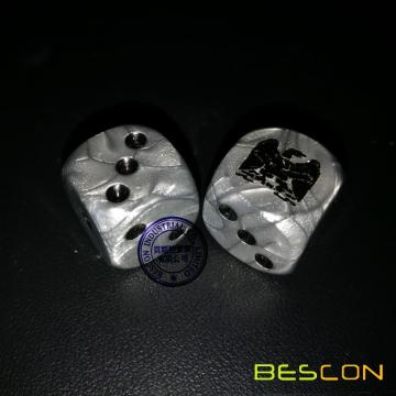 Metallic Effect Custom Game Dice 16MM