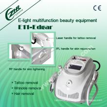 E11b E Luz IPL RF Elight ND Equipamento de remoção de tatuagem YAG