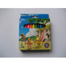 Top Qualtiy Eco Mini Colored Pencil Set para escuela