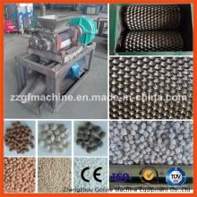 Granulador de extrusión de rodillos dobles de fertilizante químico