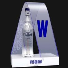 Led yaratıcı şişe göstermek votka hediye Fuarı