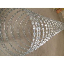 pvc coated protected security razor barbed wire