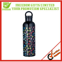 Promotion 750ml Large Capacity Stainless Steel Sports Water Bottle