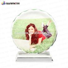 Blancos calientes vendedores calientes del cristal de la foto de la sublimación 3d para la venta al por mayor