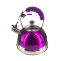 Purple S.S whistle kettle