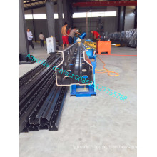 Supermarket rack shelf making machine/rack upright rollforming machine