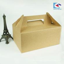 boîte d'emballage de gâteau jetable de haute qualité