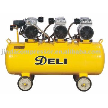 Compresor de aire libre de aceite silencioso de 220V de 50 HZ