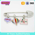 Baby Shower Poussette Broche Décorative Kilt Pin Ours Charme Baby Safety Pin Broche