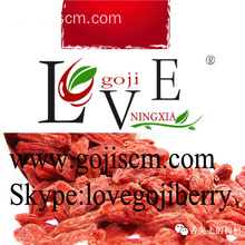 Pesticidas baixas Goji Berries - 380grain