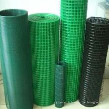 Mesh soudé en PVC revêtu en bonne qualité