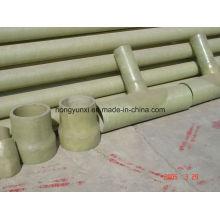 T de fibra de vidro feito à mão