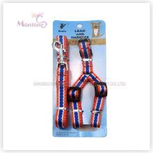 Trela da ligação do chicote de fios do cão dos produtos dos acessórios do animal de estimação 82g