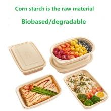 Feuille de plastique PLA biodégradable à base d'amidon de maïs
