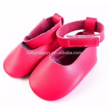 2016 latest summer baby shoes girl moccs real leather slip on baby