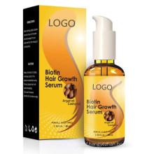 Private Label Biotin Hair Loss Prevention Treatment Growth Serum