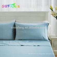 Roupa de cama / 60 * 60s 300TC 100% tencel lyocell conjunto de cama de luxo / Lyocell jogo de cama