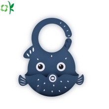 BPA Free Cute Silicone Baby Bib for Outside