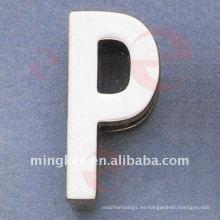 """Bolsa de letra """"P"""" Accesorios de hardware decorativo (O34-672A-P)"""