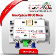 CATV FTTH Mini Récepteur de réseau optique Nœud ONU Rfog