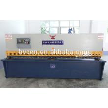 Máquina de corte hidráulica qc12y-4x2500 / máquina de corte de alumínio