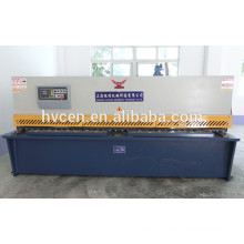 Qc12y-4x2500 гидравлическая машина для резки / машина для резки алюминия