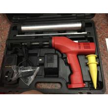 Caulking y pistola adhesiva para la imagen y la introducción