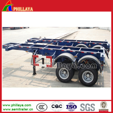 40 Tonnen Skeleton Trailer für Container Transport Container Chassis