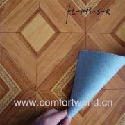 PVC vloerbedekking met Non-woven