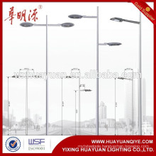 4-16M outdoor Steel lighting Street Lamp pole